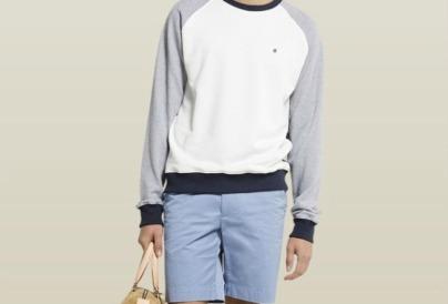 Jersey y pantalón tipo bermuda