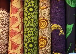 imagen de telas africanas