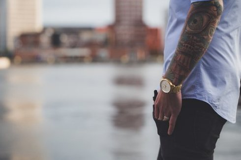 imagen detallada de la moda masculina
