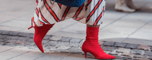 imagen de botas calcetín