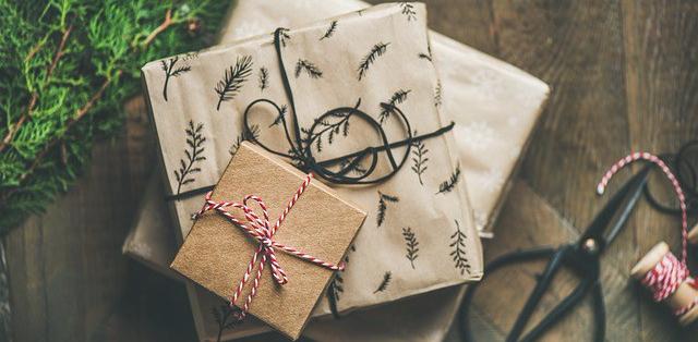foto de regalos navideños