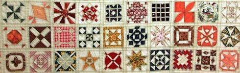 manta hecha de patchwork
