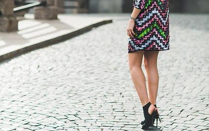 imagen de un vestido glitter
