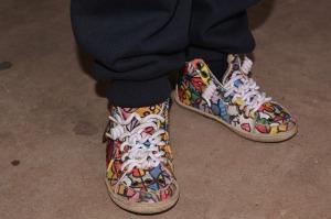 imagen de zapatillas arty de niño