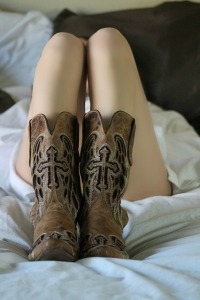 imagen de botas tipo cowboy
